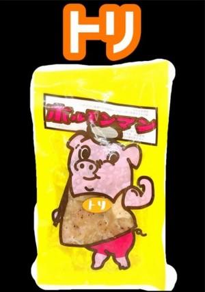 ホルモンマン(トリ) 100g(冷凍)